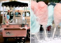Cotton Candy! (Dolly's Cotton Candy) - Click image to find more Weddings Pinterest pins