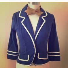 OLSENBOYE SOFT BLAZER M OLSENBOYE SOFT Private School girl BLAZER M Blue.fit likeSMALL.. Look great with white cuffed shorts and boat shoes. Olsenboye Jackets & Coats Blazers
