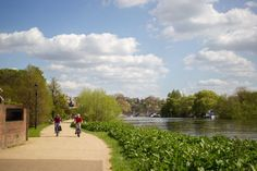 An poster sized print, approx (other products available) - People enjoy the sunshine by the banks of the River Thames in Richmond Upon Thames in London. - Image supplied by PA Images - poster sized print mm) made in Australia Richmond Upon Thames, London People, London Boroughs, Enjoy The Sunshine, Spring Weather, River Thames, London Photos, National Photography, Photographic Prints