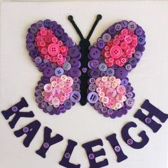 Butterfly - pretty in pink and purple