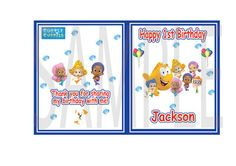 Bubble Guppies Personalized  Coloring Books Party Favors