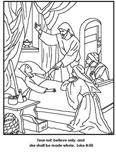 Miracles of Jesus is Turn Water into Wine Coloring Page ...