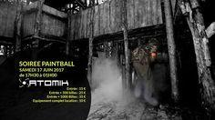 Samedi c'est nocturne Paintball sur le terrain de Valmondois (location Possible )