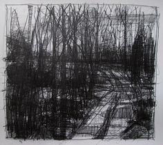 Harry Stooshinoff, pencil on paper