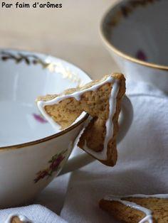 Bredele, Gingerbread cookies, biscuits de tasse épicés