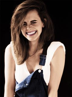 Emma Watson, My hair is pretty much like this. Only it's Emma Watson so obs hers is way better. ha ha!