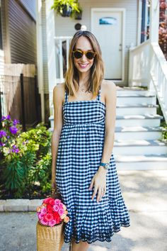 How To: Wear a Gingham Dress