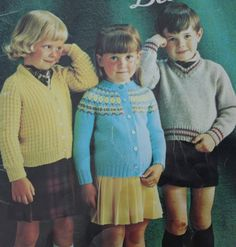 Knitting Patterns for Children Beehive Patons 110 by elanknits (Craft Supplies & Tools, Patterns & Tutorials, Fiber Arts, Knitting, children, knitting patterns, cardigan patterns, hat knitting pattern, sweater patterns, tights pattern, mittens pattern, vest pattern, leggings pattern, Patons 110, jumper patterns, knitting pattern, kids sweater pattern)