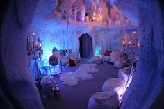 Selfridges Christmas Grotto which we designed and built.