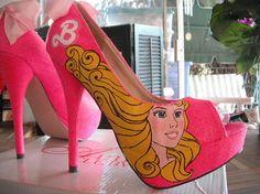 80s Doll Pumps. BARBIE PUMPS!!!   (PinUpInPink Etsy Shop)(