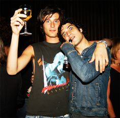 Nick Valensi and Fab Moretti from ZE Strokes!!!