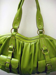 Cute Green Bag : )