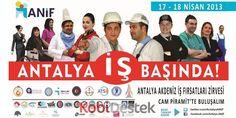 İş ve eleman arayanlar '6. Antalya Akdeniz iş fırsatları zirvesi'nde buluştu