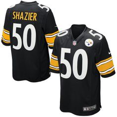 3e7ed5c29 Ryan Shazier Pittsburgh Steelers Nike Game Jersey - Black