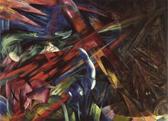 Franz Marc-The fate of the animals-1913 - Modernism - Wikipedia, the free encyclopedia
