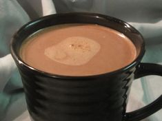Truly Amazing Creamy Hot Chocolate.  1 can of sweetened condensed milk, 1/2 cup of unsweetened cocoa, 2 tsp vanilla, 6.5 cups of hot water.  Add a dash of cinnamon at the end if you like.