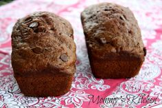 Mommy's Kitchen - Old Fashioned & Country Style Cooking: Chocolate Zucchini Bread {First Zuchinni of the Season}