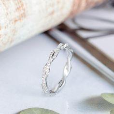 Diamond Kite Star Eternal Love Promise Ring 925 white