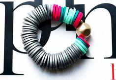 Silver Bracelet Trendy Bracelet Cool Jewelry Fall Bracelet by IKKX, €28.00