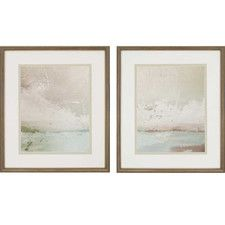 Eastern Shore by Sikes 2 Piece Framed Painting Print Set