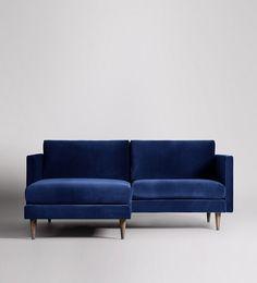 Tivoli Left-hand Small Corner Sofa | Swoon Editions