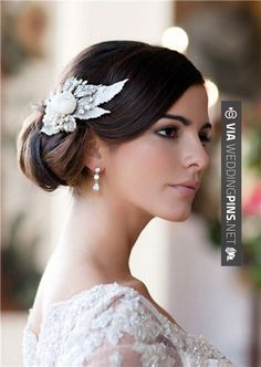 Amazing! - Side Bun Wedding Hair Like the swoopy bangs. It could help cover my high forehead. | CHECK OUT MORE SWEET IDEAS FOR TASTY Side Bun Wedding Hair AT WEDDINGPINS.NET | #sidebunweddinghair #naturalhair #weddinghairstyles #weddinghair #hair #stylesforlonghair #hairstyles #hair #boda #weddings #weddinginvitations #vows #tradition #nontraditional #events #forweddings #iloveweddings #romance #beauty #planners #fashion #weddingphotos #weddingpictures