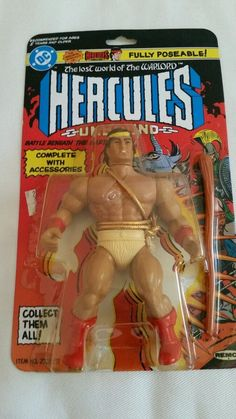 Remco Hercules Action Figure from 80s  ebay