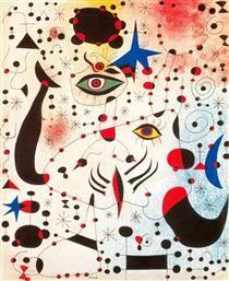 Constellation: The Morning Star Joan Miro · 1940