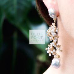Orecchini ICE | Design by E. Cencini  @bluepointfirenze #bpf #bluepoinfirenze #instaglamour #followus #bigiotteria #collection #moda #sposa #bride #beautiful #fashion #jewels #glamour #bijoux  #musthave #orecchini