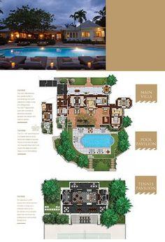 Resort Interior, Round Hill, Beach Bars, Caribbean Sea, Guest Suite, Spa Treatments, Lounge Areas, Tropical Garden, Plan Design