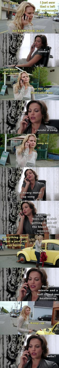 "Drunk!Regina ""The songwriter""  1 (source: thelast-thingido.tumblr)"