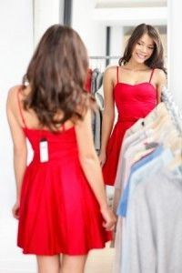 26d7bb36af8 woman trying on clothes at marshalls Cheap Dresses, Formal Dresses, Dresses  For Work,