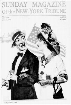 """""""Independence Day,"""" New York Tribune (New York, NY), June 30, 1912. Library of Congress, Chronicling America: Historic American Newspapers."""