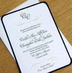 Wedding Invitation (McClure)