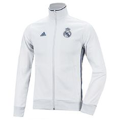 adidas Real Madrid 3-Stripes Soccer Track Top (White/Purple): http://www.soccerevolution.com/store/products/ADI_45320_A.php