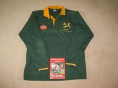 #South #africa springbok rugby match worn player #shirt - v british lions 1997,  View more on the LINK: http://www.zeppy.io/product/gb/2/282352550678/