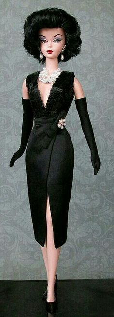 Silkstone BArbie Doll in Black