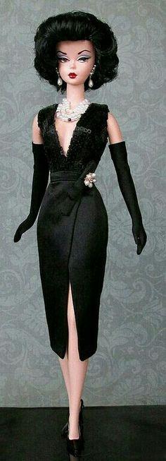 Silkstone BArbie Doll in Black