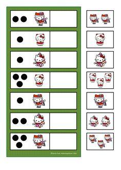 By Autismespektrum. Visual Motor Activities, Kindergarten Math Activities, Homeschool Math, Preschool Crafts, Counting Activities, Activities For Kids, Toddler Worksheets, Love Teacher, Busy Boxes