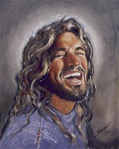 My Jesus is a person who laughs and enjoys His relationship with us and is not just some somber, tyrannical religious figure. He smiles when you smile, He laughs when you laugh, He cries when you cry and is your true best friend forever! Love on him today!