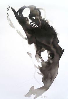 Figure drawing in ink Human Figure Drawing, Figure Sketching, Life Drawing, Figure Painting, Painting & Drawing, Art Sketches, Art Drawings, Art Beauté, Drawn Art