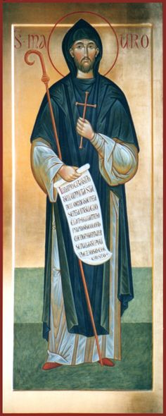 San Mauro icona per mano di Giuseppe Bottione