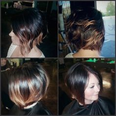 Sexy cut and color by @bradeejo #sexyhair #love #redken #colorgels