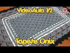 Tapete em Croche simples..1 parte CROCHÊ DA NANDA - YouTube