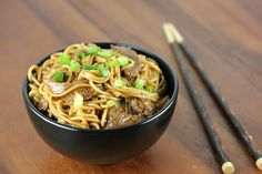 A classic asian noodle dish, but made with your own flair. Feel free to add extra meat on the cheap to boost the protein content. Most of the flavor in this dish comes from traditional asian ingredients such as ginger, garlic, sesame oil, and hoisin sauce (which is a traditional Chinese dipping sauce). Go ahead and replace the beef with shrimp or pork for variety, for continued authenticity.