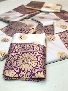 Purple pure katan silk saree, festival saree, simlpe saree with blouse piece Lehenga Saree Design, Anarkali Lehenga, Sari, Cotton Saree, Silk Sarees, Ethnic Sarees, Kanjivaram Sarees, Cheap Sarees, Latest Party Wear Suits