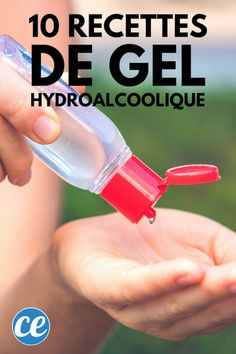 Do you want to make your homemade hydroalcoholic gel? We have selected for you . Do you want to make your homemade hydroalcoholic gel? We have selected 10 recipes for you to make your homemade antibacterial gel and disinfect your h. Alcohol, Budget Planer, Hygiene, Woodworking Jigs, Perfume, Own Home, Cleaning Hacks, Martini, Food To Make