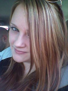 Copper brown red lowlights and highlights