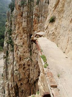 El Camino del Rey, Spain.  I still want to go back and do this.