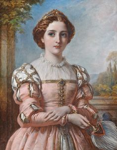 Beatrice (Much Ado About Nothing) Thomas Francis Dicksee